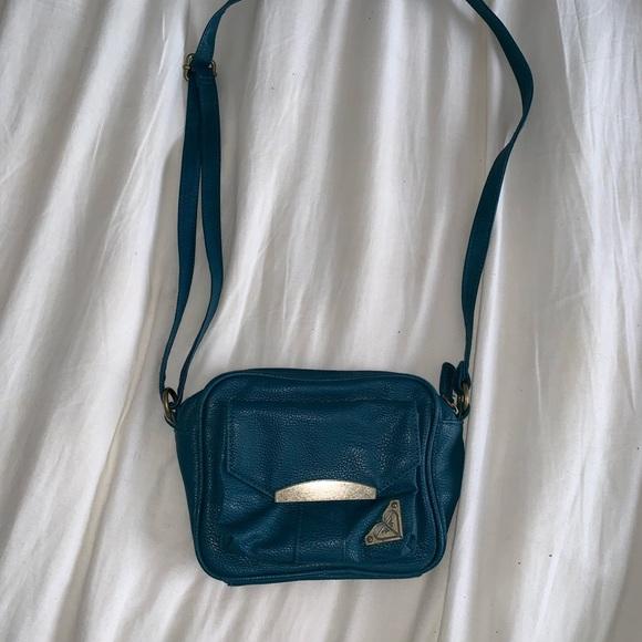 Roxy Handbags - Roxy Navy Blue Small Purse